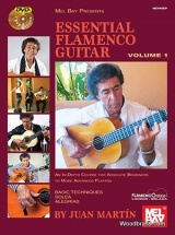 Juan Martin And Patrick Campbell - Essential Flamenco Guitar Vol.1 (book/2-dvd Set)