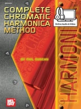 Duncan Phil - Complete Chromatic Harmonica Method + Cd + Dvd - Harmonica