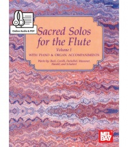MCCASKILL MIZZY - SACRED SOLOS FOR THE FLUTE VOLUME 1 + MP3 - FLUTE