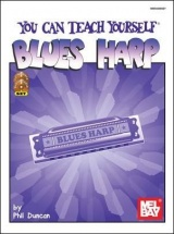 Duncan Phil - You Can Teach Yourself Blues Harp + Cd + Dvd - Harmonica