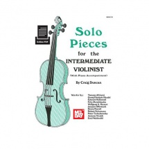 Duncan Craig - Solo Pieces For The Intermediate Violinist - Violin
