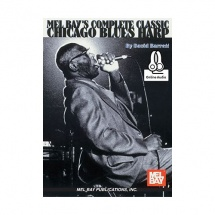 BARRETT DAVID - COMPLETE CLASSIC CHICAGO BLUES HARP + AUDIO ONLINE - HARP