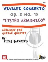 Barreiro Elias - Vivaldi Concerto Op. 3 No. 10 - L