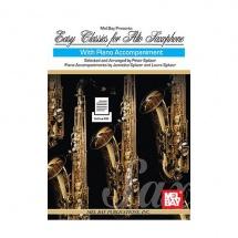 Spitzer Peter - Easy Classics For Alto Saxophone - Saxophone