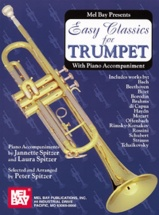Spitzer Peter - Easy Classics For Trumpet - With Piano Accompaniment - Trumpet