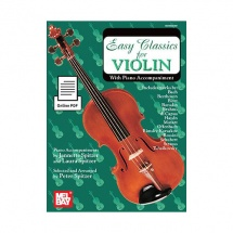 Spitzer Peter - Easy Classics For Violin - With Piano Accompaniment - Violin