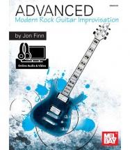 FINN JON - ADVANCED MODERN ROCK GUITAR IMPROVISATION (LIVRE AUDIO)