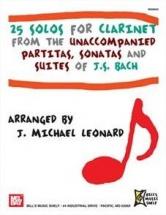 Bach J.s. - 25 Solos- Clarinet