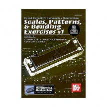 BARRETT DAVID - SCALES, PATTERNS AND BENDING EXERCISES VOL.1 + ONLINE