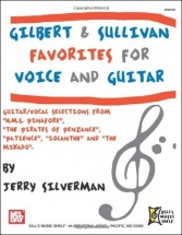 Silverman Jerry - Gilbert And Sullivan Favorites For Voice And Guitar - Guitar