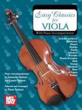 Spitzer Peter - Easy Classics For Viola - With Piano Accompaniment - Viola