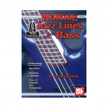 HUNGERFORD JAY - WALKING JAZZ LINES FOR BASS + AUDIO ONLINE - ELECTRIC