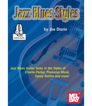Diorio Joe - Jazz Blues Styles + Online Audio