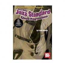 Play-along Jazz Standard Chord Progression - Guitare +online Audio