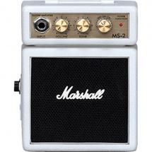 Marshall Micros Amplis Ms 2 W Blanc A Piles