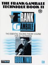 Gambale Frank - Technique Book Ii - Guitar