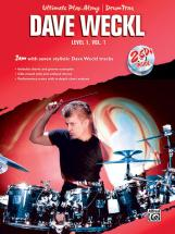 Weckl Dave - Ultimate Play-along Drums Level 1 Vol.1 + 2cd - Drum