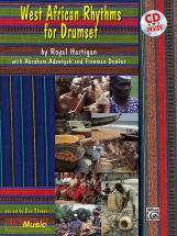West African Rhythms + Cd - Drum