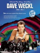 Weckl Dave - Ultimate Play-along Drums Lev1/2 +2cds - Drum