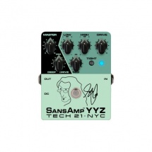 Tech21 Geddy Lee Signature Sansamp Yyz Preampli Pour Basse