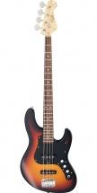 Fgn Guitars Bmj-g/3ts Myghty Jazz Boundary Basse Electrique Touche Granadillo Finition 3-tone Sunbrurst