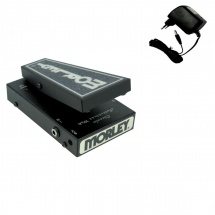 Morley 20/20 Classic Switchless Wah Wah Sans Interrupteur Noire + Eu-9v Dc 9v