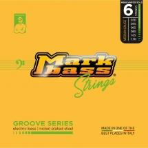 Markbass Mb6gvnp30130ls Jeu 6 Cordes Groove Series Nickel Plated Steel 030 045 065 085 105 130