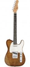 Michael Kelly 1953 Guitare Electrique Finition Caramel Burst