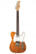 Michael Kelly Enlightened Classic 50 Guitare Electrique Finition Amber
