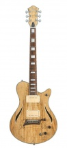 Michael Kelly Hybrid Special Guitare Hybride Electrique Et Electroacoustique Finition Spalted Maple