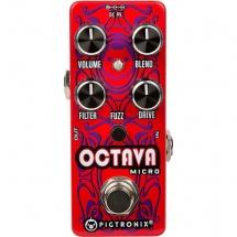 Pigtronix Octava Micro Pedale D\'octave Avec Fuzz Format Micro