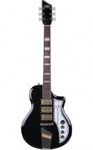 Supro 1275jb Tri Tone Guitare Electrique Finition Noire