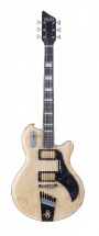 Supro 1296an Silverwood Guitare Elecrtique Finition Naturelle