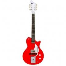 Supro Belmont Vibrato 1572vpr Guitare Electique Finition Poppy Red