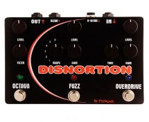 Pigtronix Disnortion Micro Pedale Fuzz Et Overdrive Format Micro