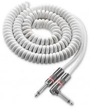 Monster Cable Coude/droit 6.4m Spirale Blc
