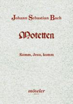 Bach J.s. - Komm, Jesu, Komm Bwv 229 - Mixed Choir (satb/satb); Basso Continuo