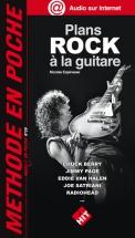 Music En Poche - Espinasse F. - Plans Rock A La Guitare Nouveaute
