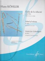 Kohler Hans - Ecole De La Velocite - Flute