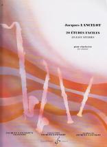 Lancelot Jacques - 20 Etudes Faciles - Clarinette Sib