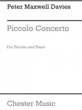 Davies Peter Maxwell - Piccolo Concerto - Piccolo and Piano
