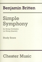 Britten B. - Simple Symphony For String Orchestra - Conducteur De Poche