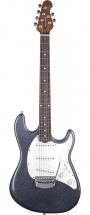 Music Man Cutlass Sss Tremolo Charcoal Sparkle Roasted Maple/rosewood