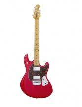 Music Man Stingray Guitare Chili Red + Etui