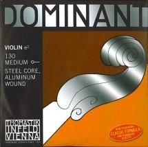 Thomastik Dominant Violon 1/2 Corde De Mi 130 Tirant Moyen