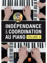 Dautigny Frederic - Independance Et Coordination Au Piano Vol.2