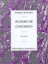 Granados - Allegro De Concierto - Piano