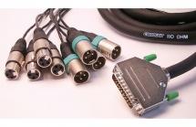 Mutec D25xlr8io6y - Cable Sub-d25/8 Xlr Aes 60 Cm Format Yamaha