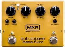Mxr Bass Innovations Sub Octave Bass Fuzz
