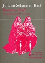 Bach J.s. - Konzert G-moll Bwv 1043/1062 - 2 Flutes A Bec Alto